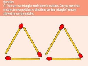 problema triunghiurilor