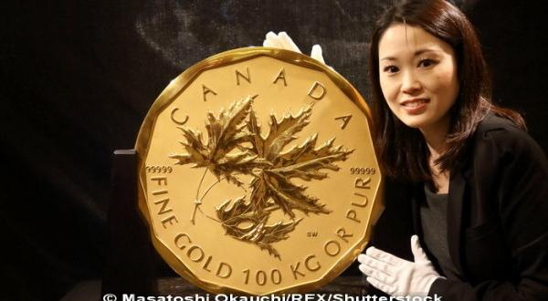 moneda din aur