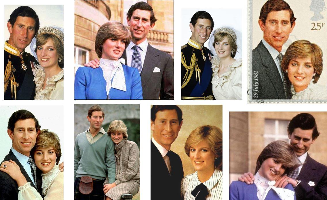 printul Charles si Printesa Diana