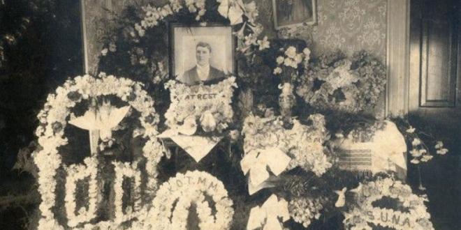 înmormântările