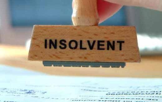 insolventa