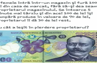 testul cu bancnota