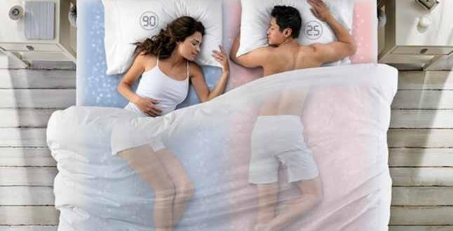 racoare in pat noaptea