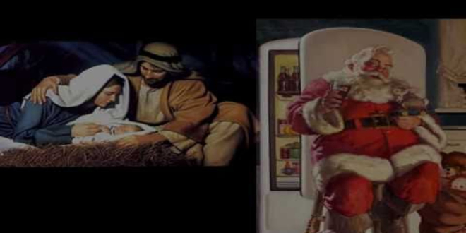 mos craciun vs iisus hristos