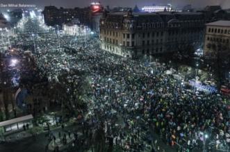 foto protest 20 ianuarie 2018