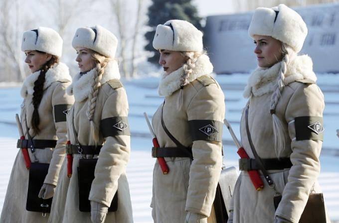 fetele din armata rusa
