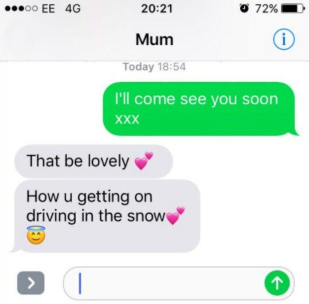 mesaj text