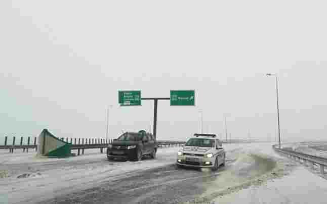 politia zapada autostrada