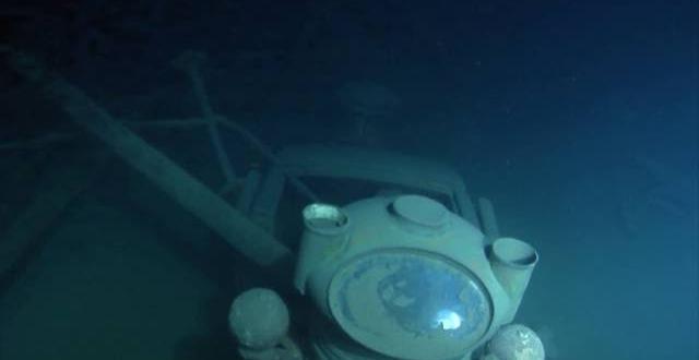 descoperire socanta pe fundul unui lac