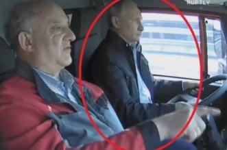 Putin camion Crimeea