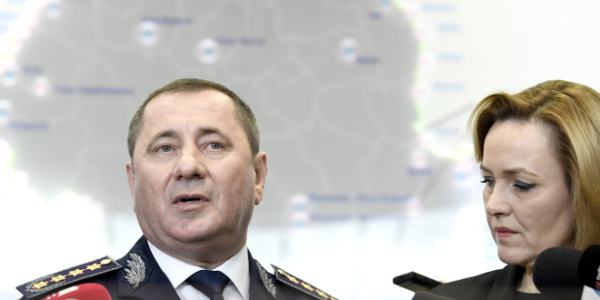 seful politiei